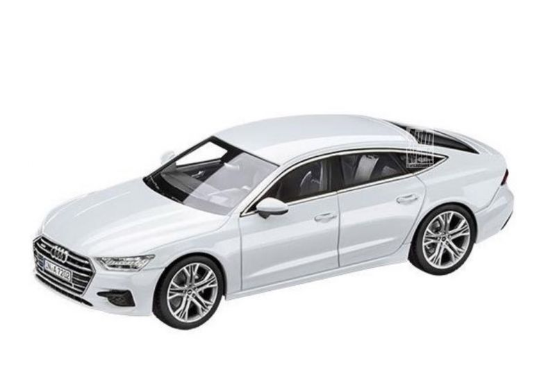 2018 Audi A7 Leaked As Scale Model Photos Aren T Flattering