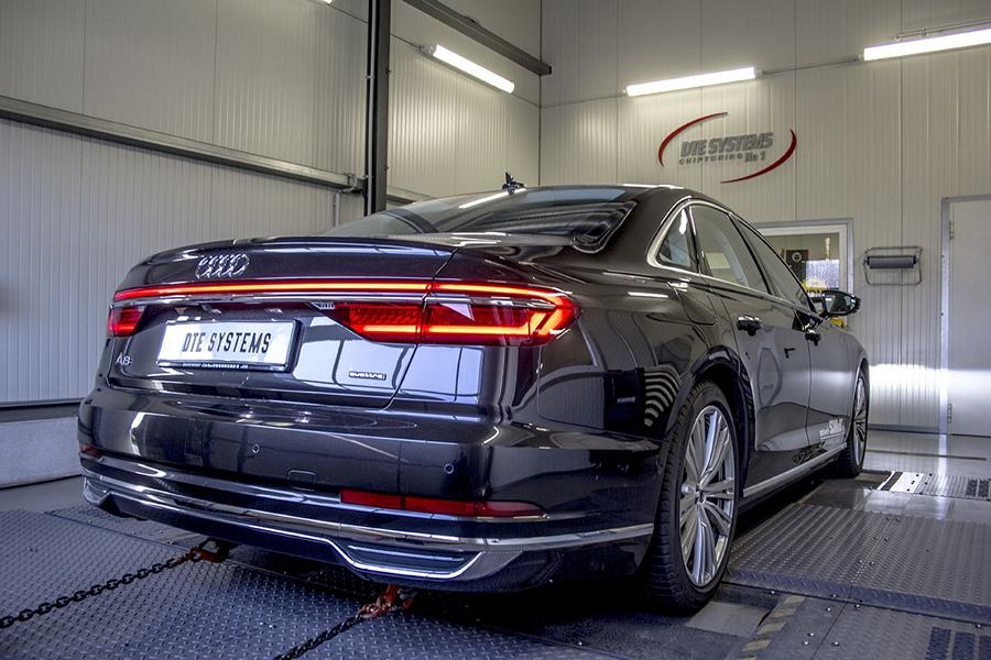 2018 Audi A8 D5 First Tuning Takes 50 Tdi