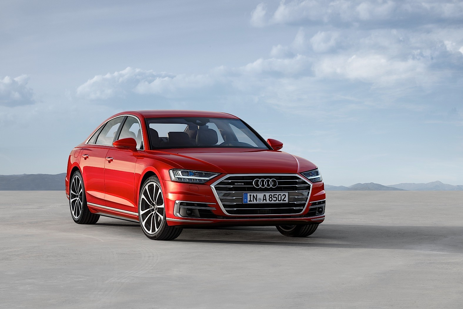 2018 Audi A8 D5 Unveiled: Plays Technology Card in Luxury ...
