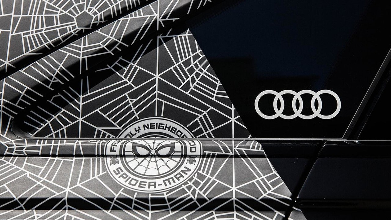 2018 Audi A8 Shown At Spider Man Homecoming Premiere Has