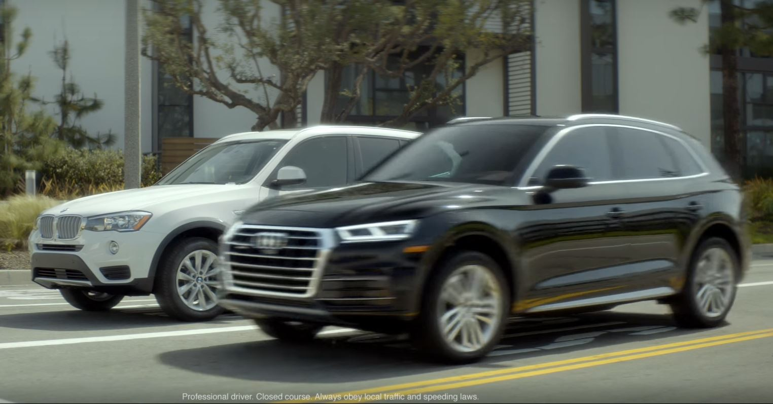 2018 Audi Q5 Thinks It's Much Better than the BMW X3 in Latest Commercials - autoevolution