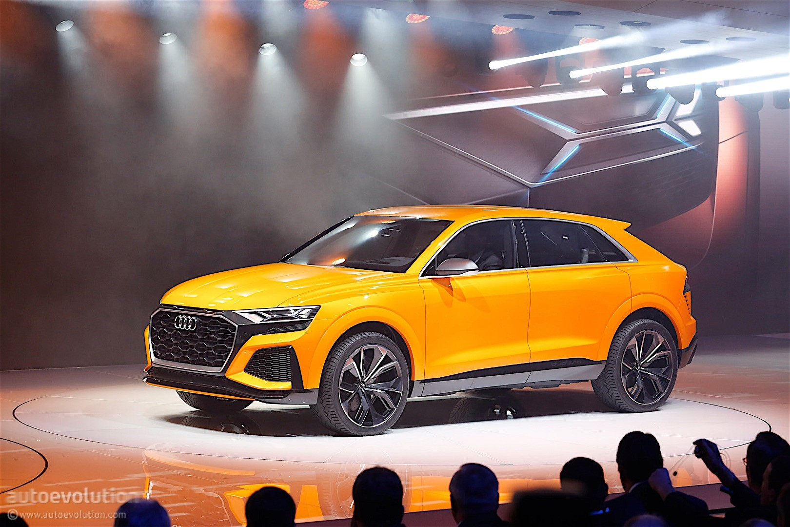 Audi Q8 Halo SUV Model Confirmed: Q7 Platform and Prologue Concept Design - autoevolution