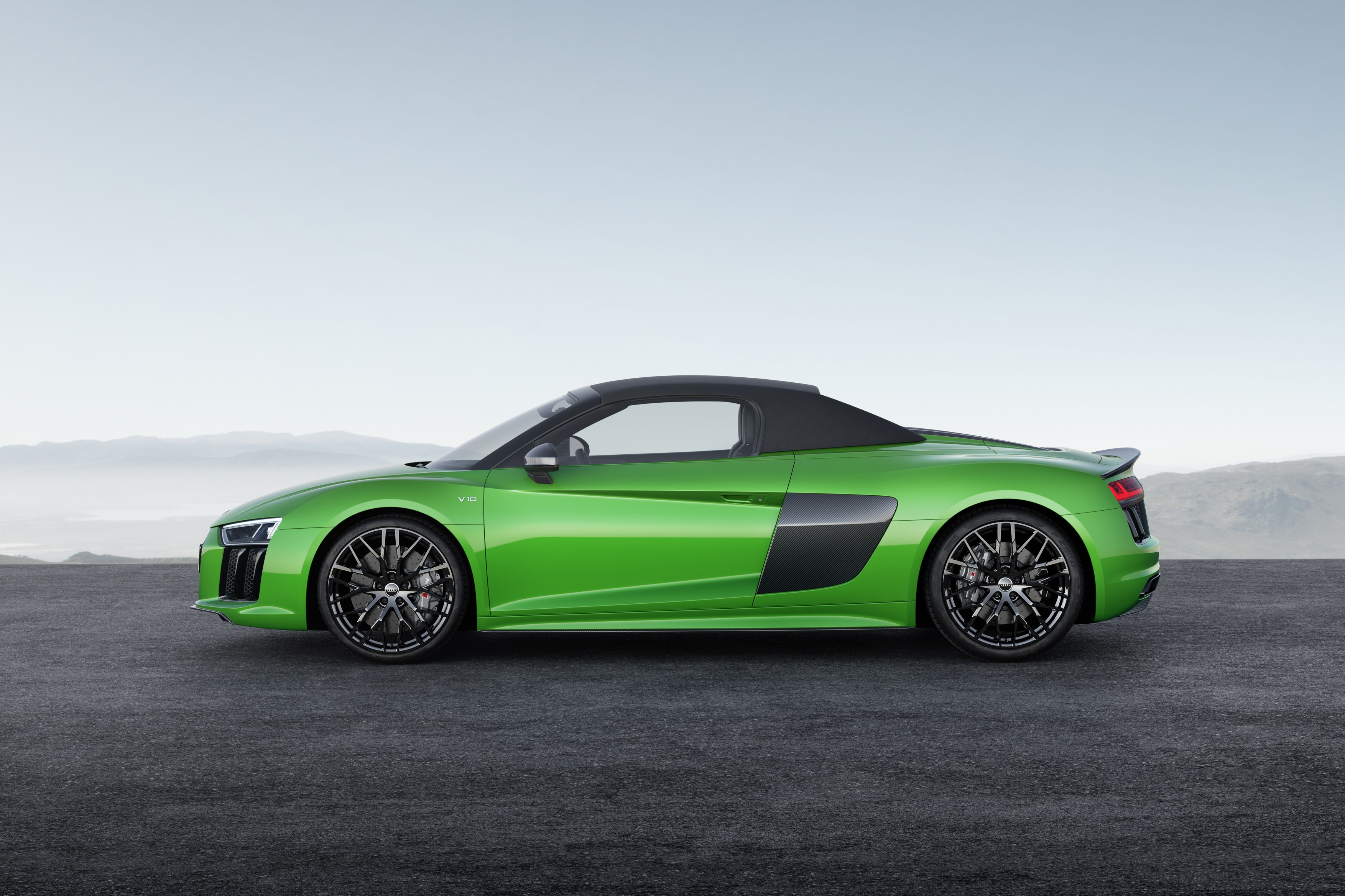 The Audi R8 Coupe V10 plus