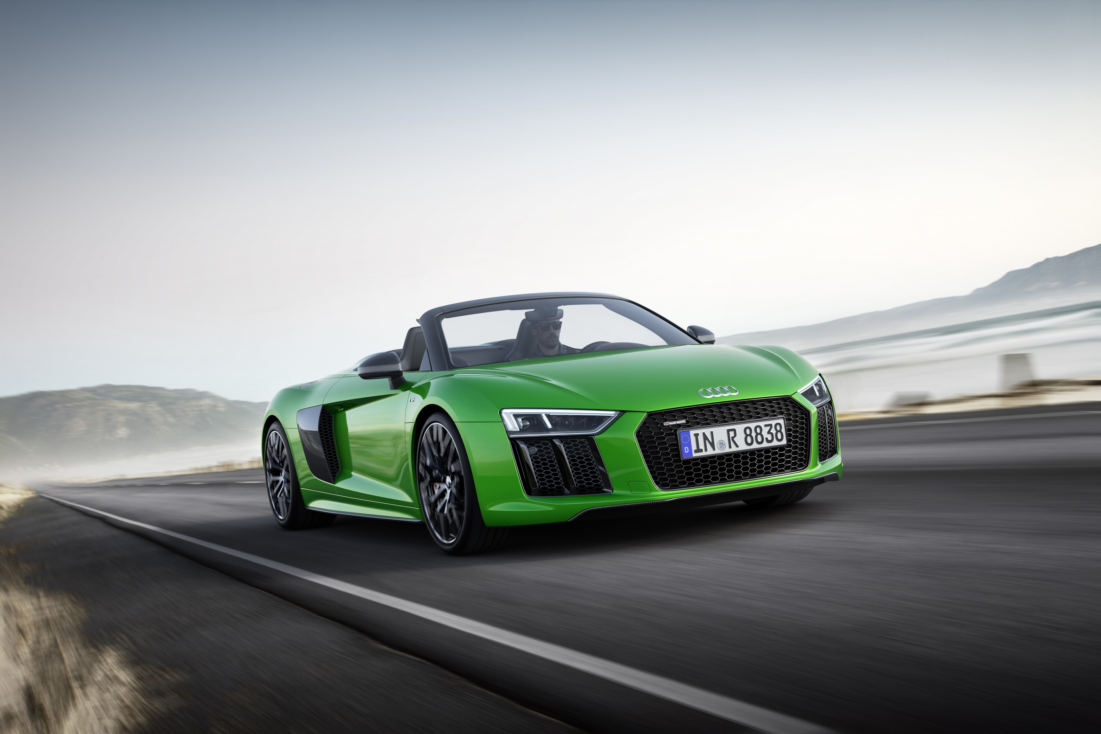 2018 audi r8 spyder v10 plus unleashed with 610 ps autoevolution. Black Bedroom Furniture Sets. Home Design Ideas