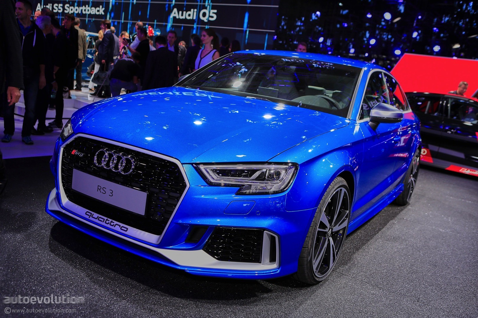2018 audi rs3 sedan price leaked in canada should be around 54 000 in the us autoevolution. Black Bedroom Furniture Sets. Home Design Ideas