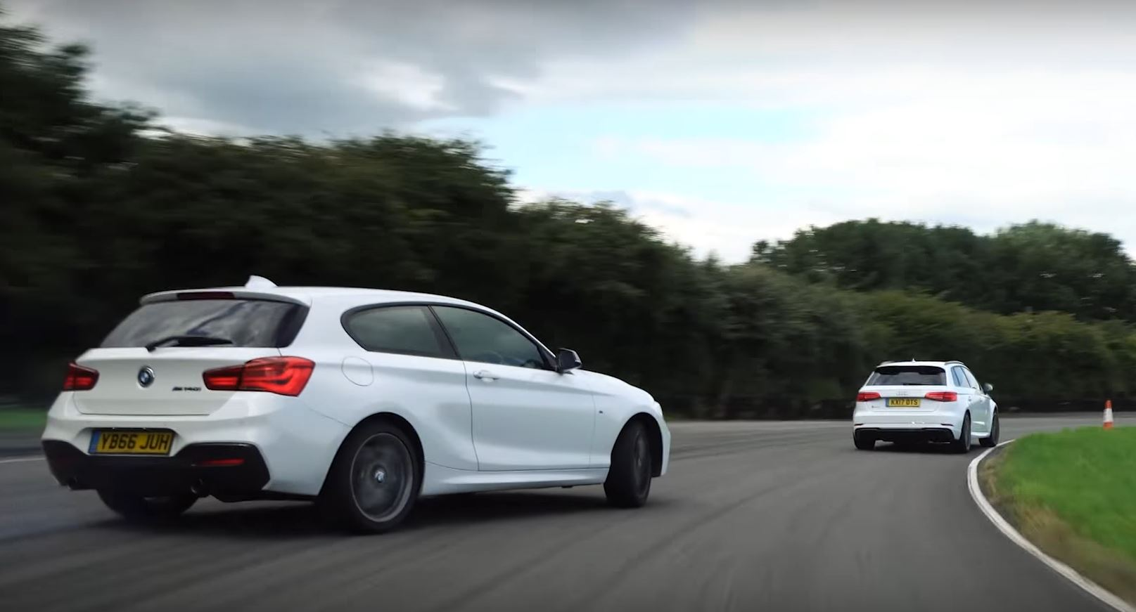 2018 Audi Rs3 Vs M140i Comparison Has Drifting