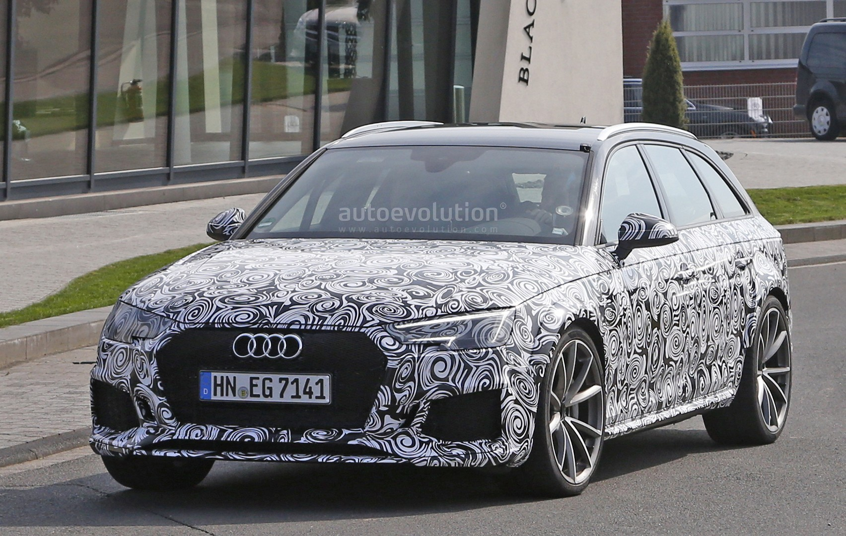 2018 audi rs4. interesting rs4 2018 audi rs4 avant spied  in audi rs4 n