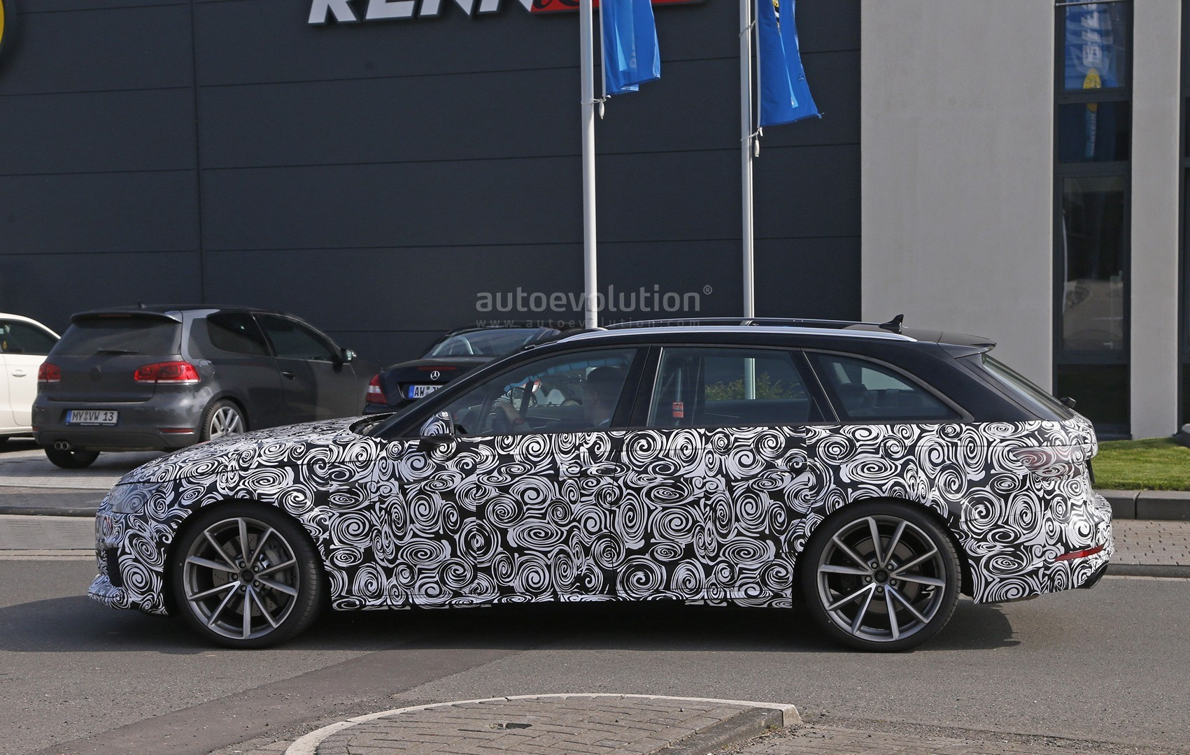 2018 audi rs4.  rs4 2018 audi rs4 avant spied and audi rs4 i