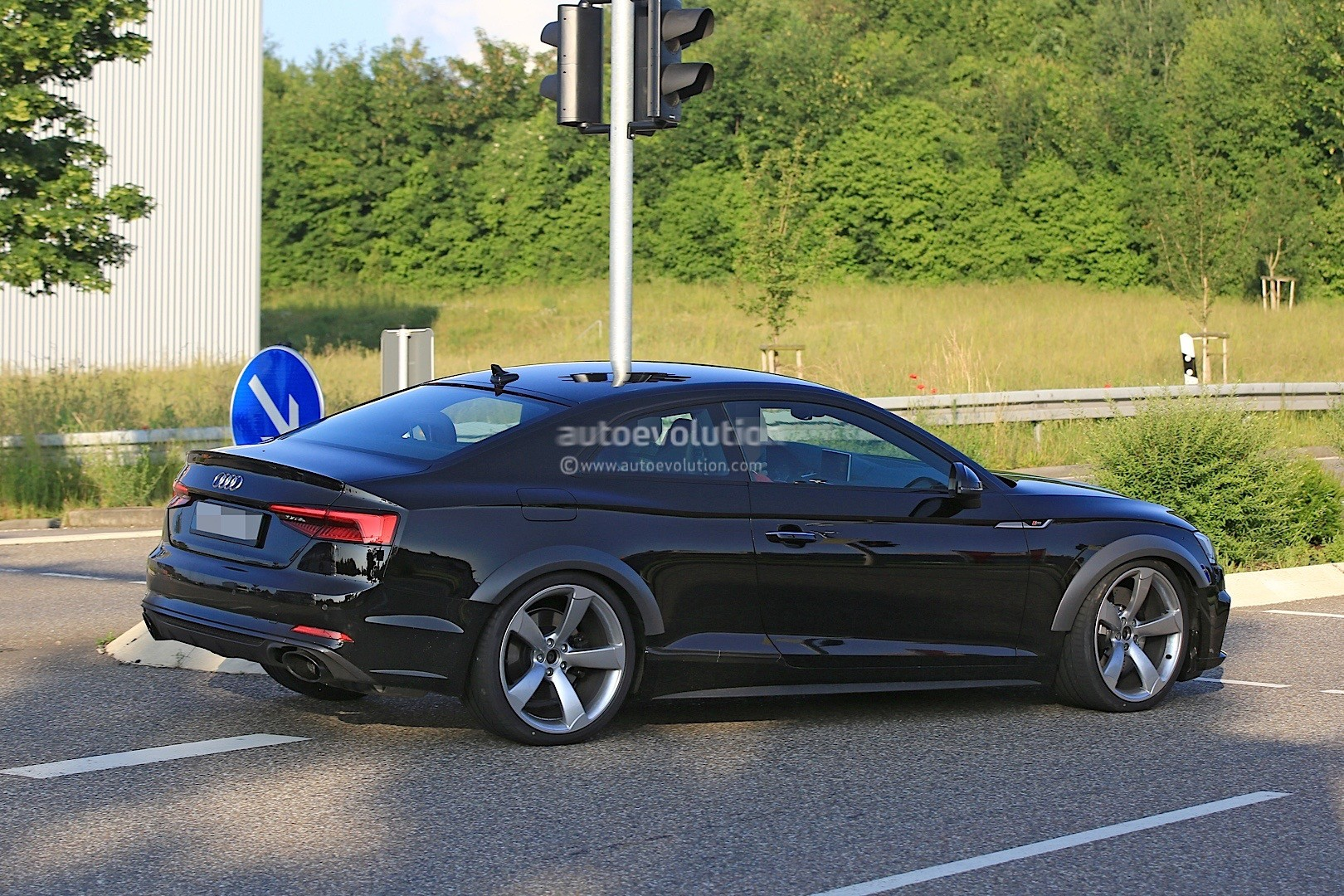 2018 Audi RS5 Coupe Test Mule Spied in Audi S5 Coupe Overalls - autoevolution