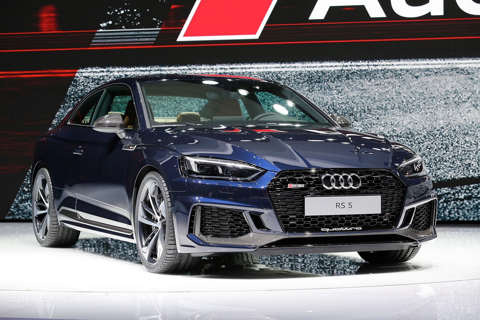 2018 audi rs5 looks sexy in geneva but is 450 hp enough autoevolution. Black Bedroom Furniture Sets. Home Design Ideas