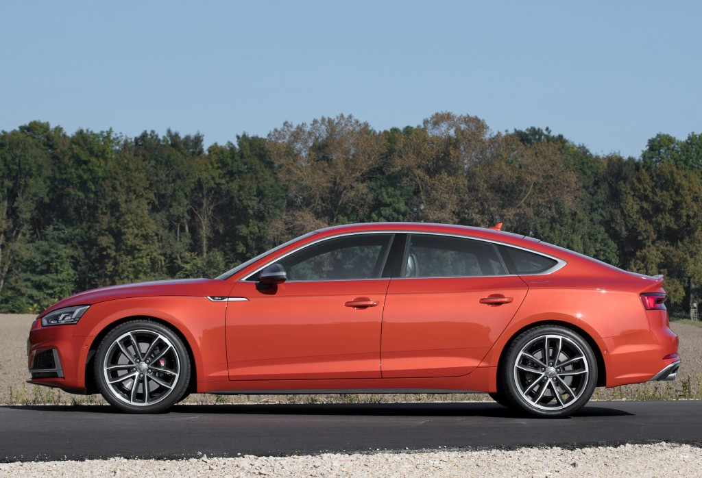 2018 Audi S5 Sportback Real Life Photos Show Stunning Coral Orange - autoevolution