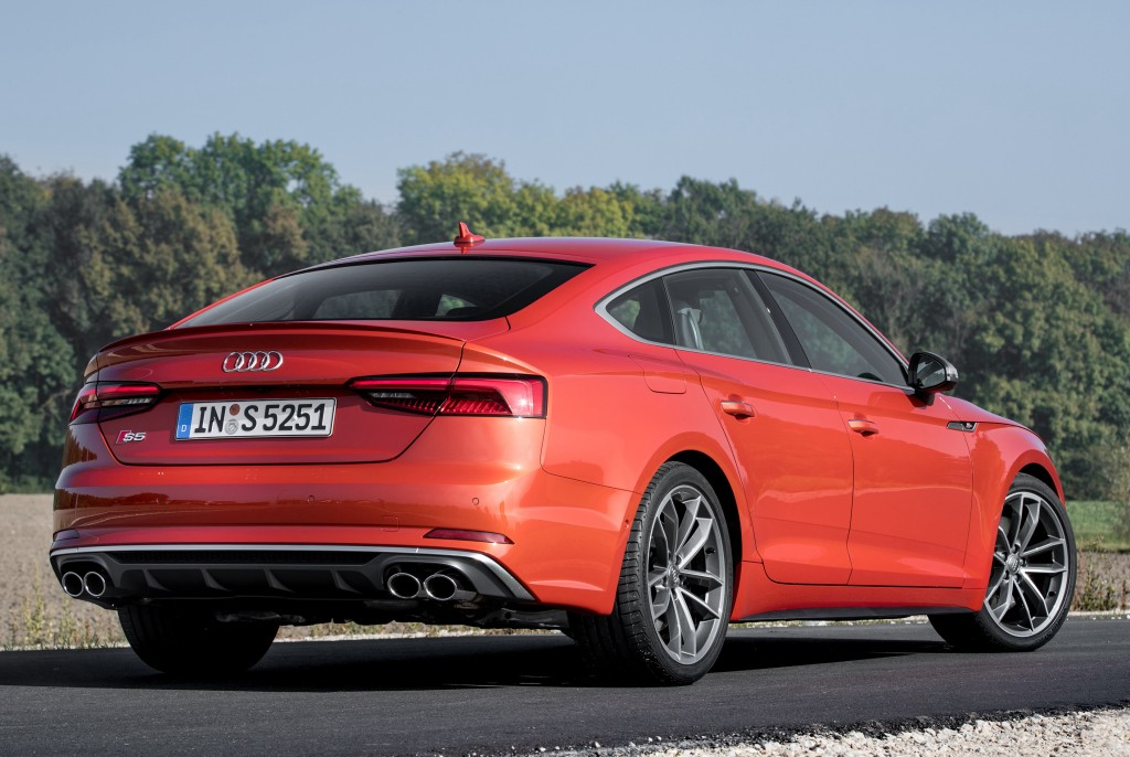 2018 Audi S5 Sportback Real Life Photos Show Stunning Coral Orange Autoevolution