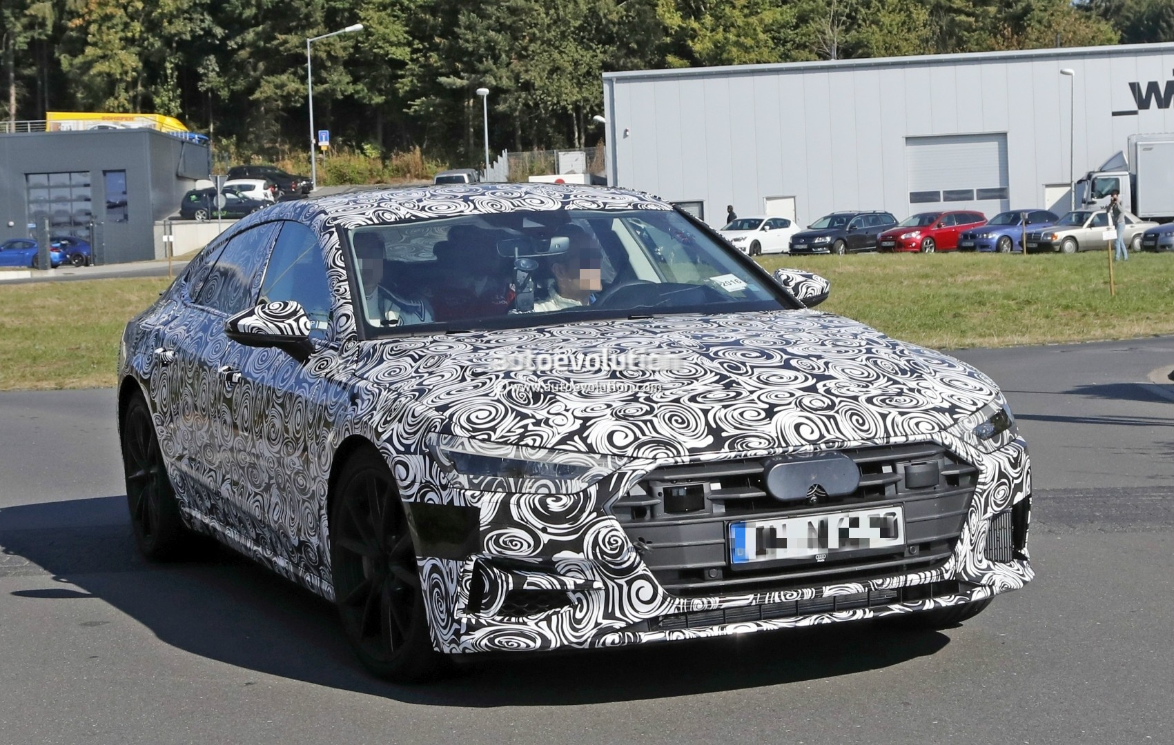 2018 Audi S7 Laps Nurburgring Early Reveals Serious