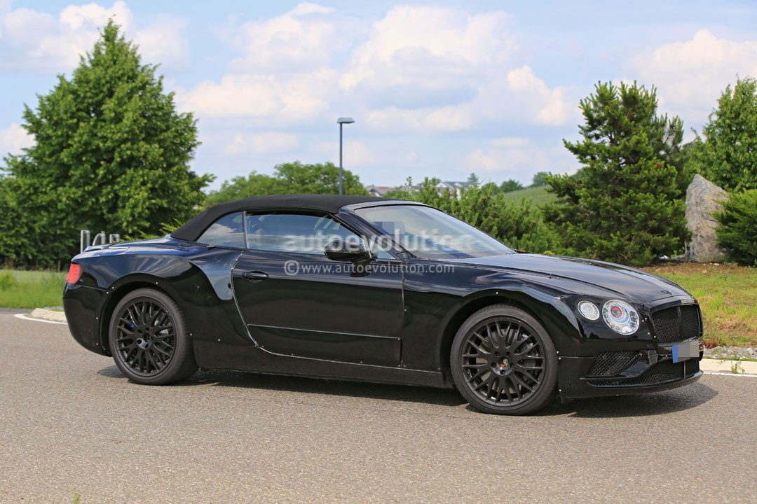 2018 bentley continental gt convertible looks sleek in first spyshots autoevolution. Black Bedroom Furniture Sets. Home Design Ideas