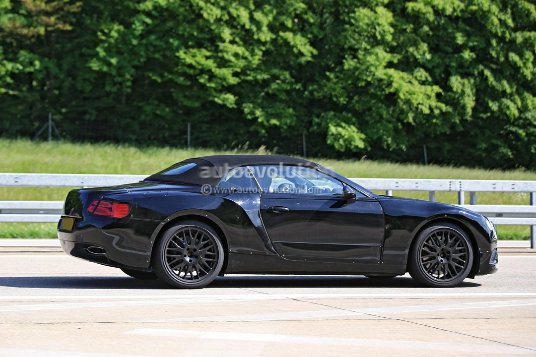 2018 Bentley Continental Gt Convertible Looks Sleek In
