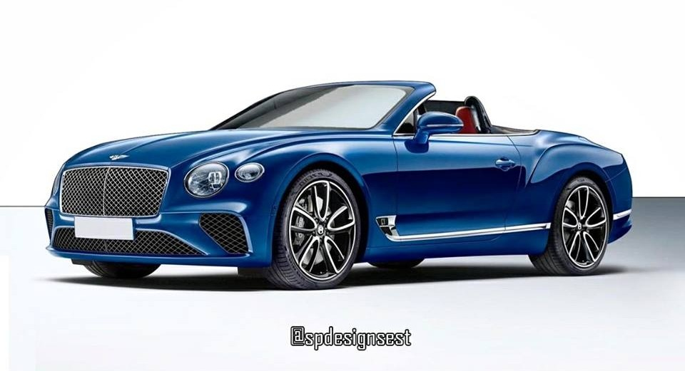 2018 bentley continental gt convertible. Unique 2018 2018 Bentley Continental GT Convertible Rendering  Inside Bentley Continental Gt Convertible O