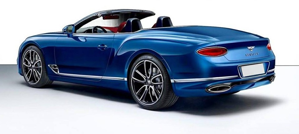 2018 bentley continental gt convertible. Unique 2018 2018 Bentley Continental GT Convertible Rendering  And Bentley Continental Gt Convertible