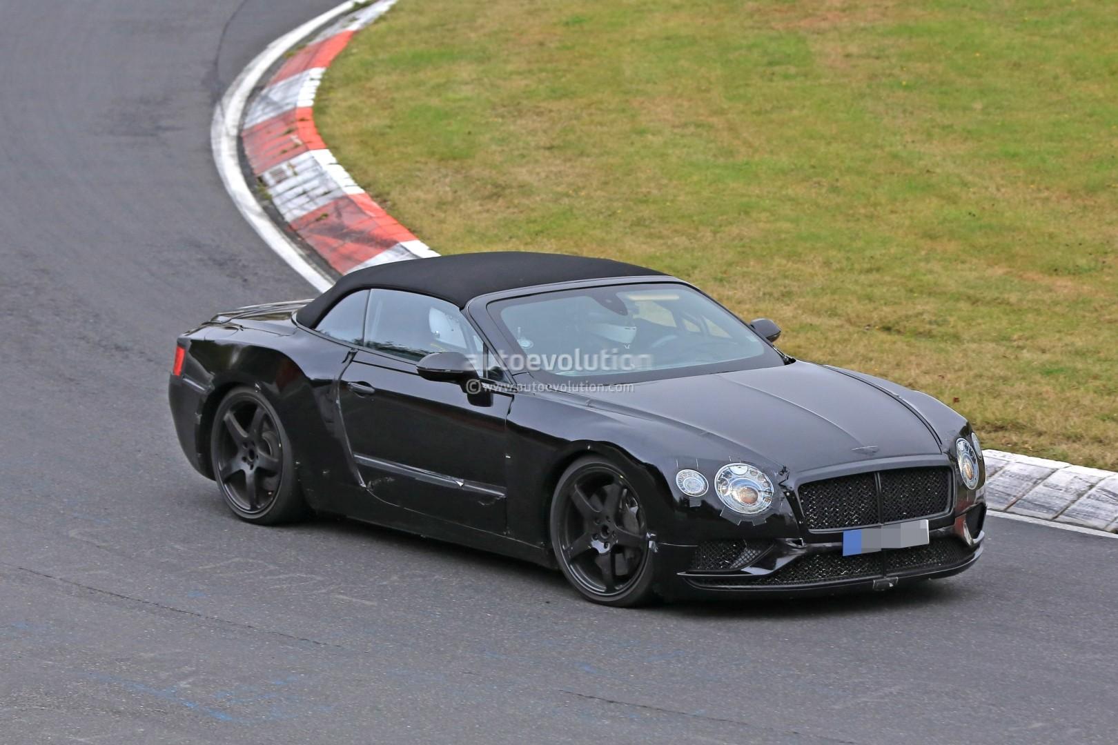 2018 bentley convertible. Wonderful Bentley 2018 Bentley Continental GT Convertible Spied On Nurburgring For Bentley Convertible