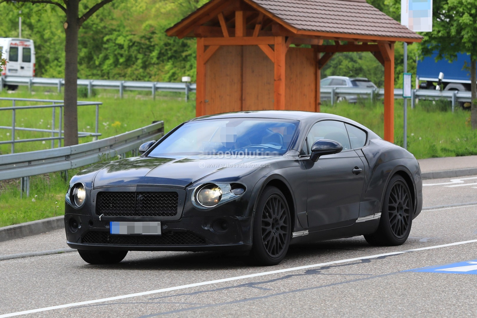 2018 bentley continental gt laps nurburgring  powered by new w12 engine