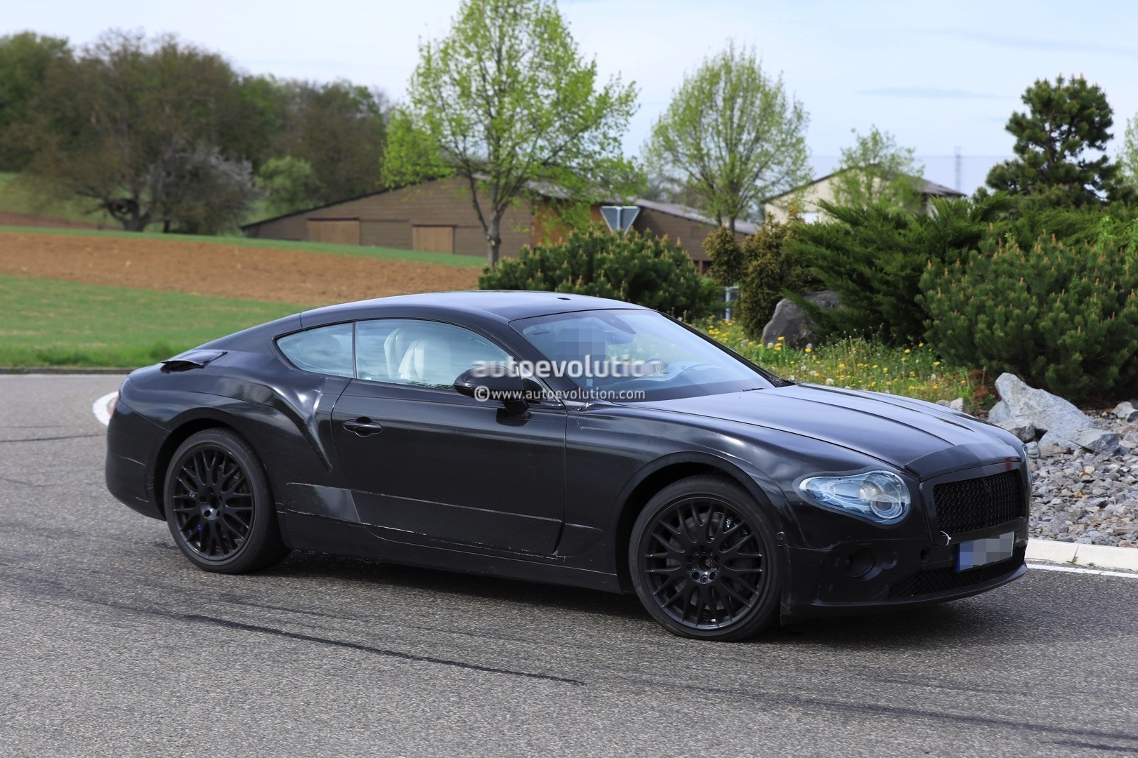 2018 bentley continental gt spied testing in germany autoevolution