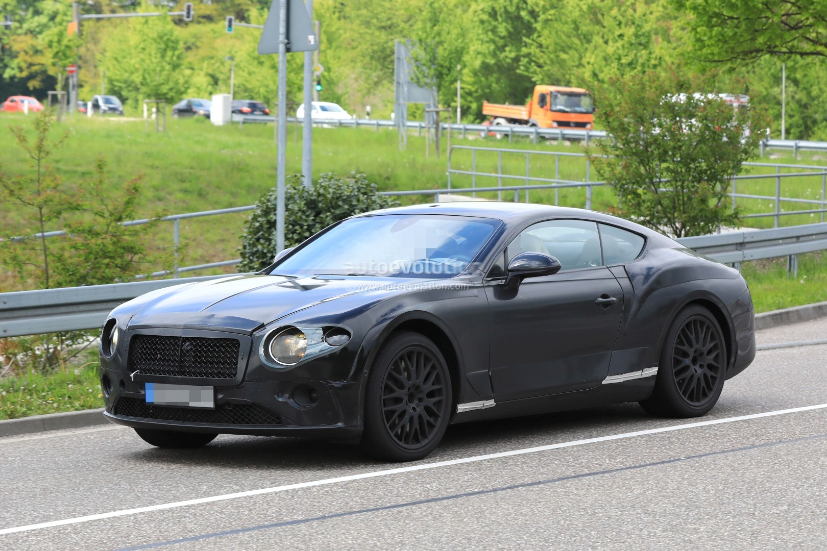Bentley Continental Gt Shows New Features In First Interior Spyshots