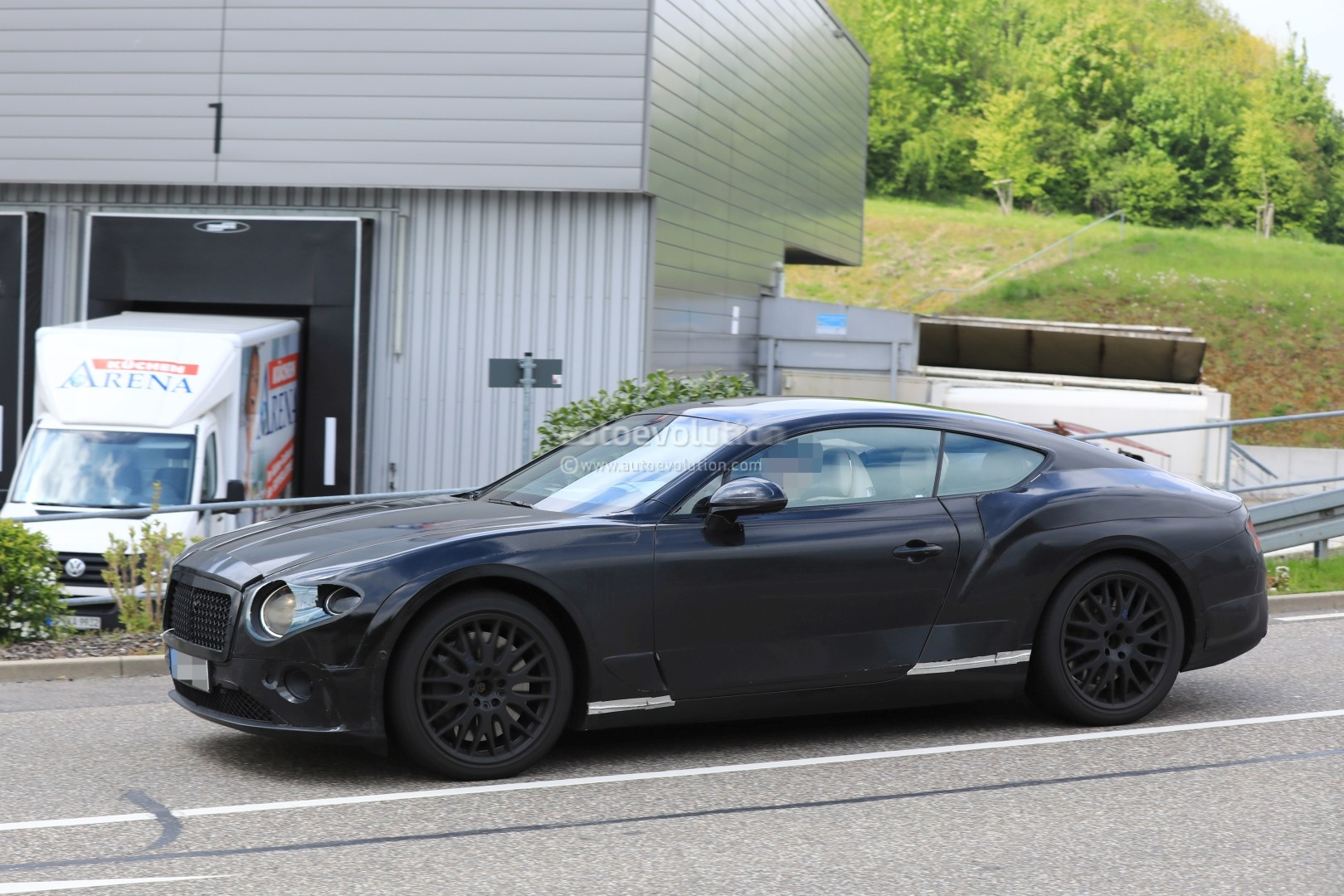 2018 bentley coupe. perfect bentley 2018 bentley continental gt spied to bentley coupe