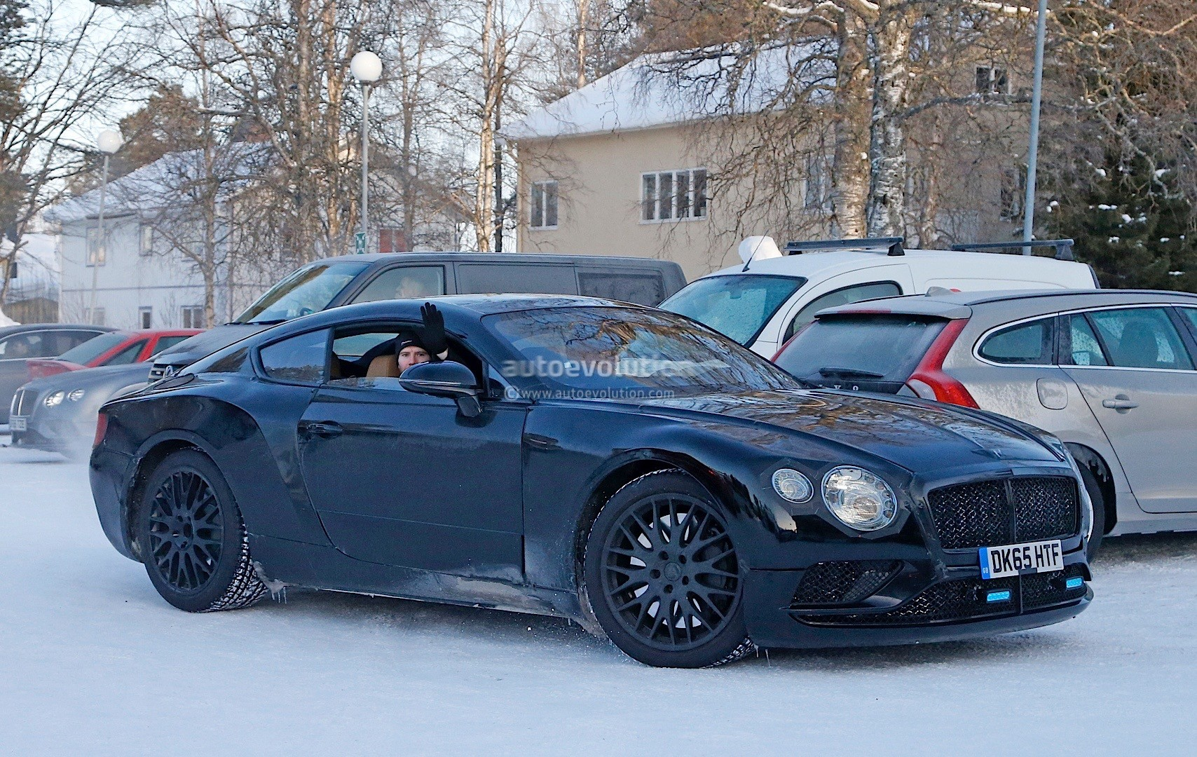 2018 Bentley Continental Gt Spied Again Exp 10 Speed 6