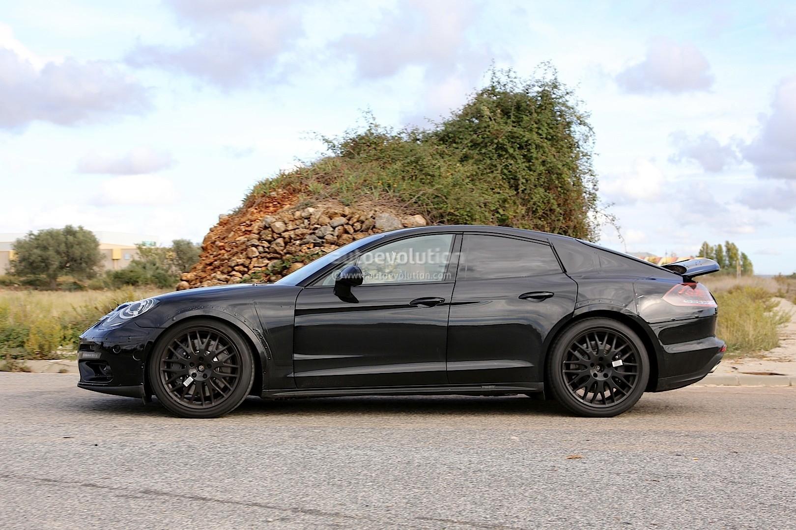 2018 Bentley Continental Gt Spied Hiding As Porsche
