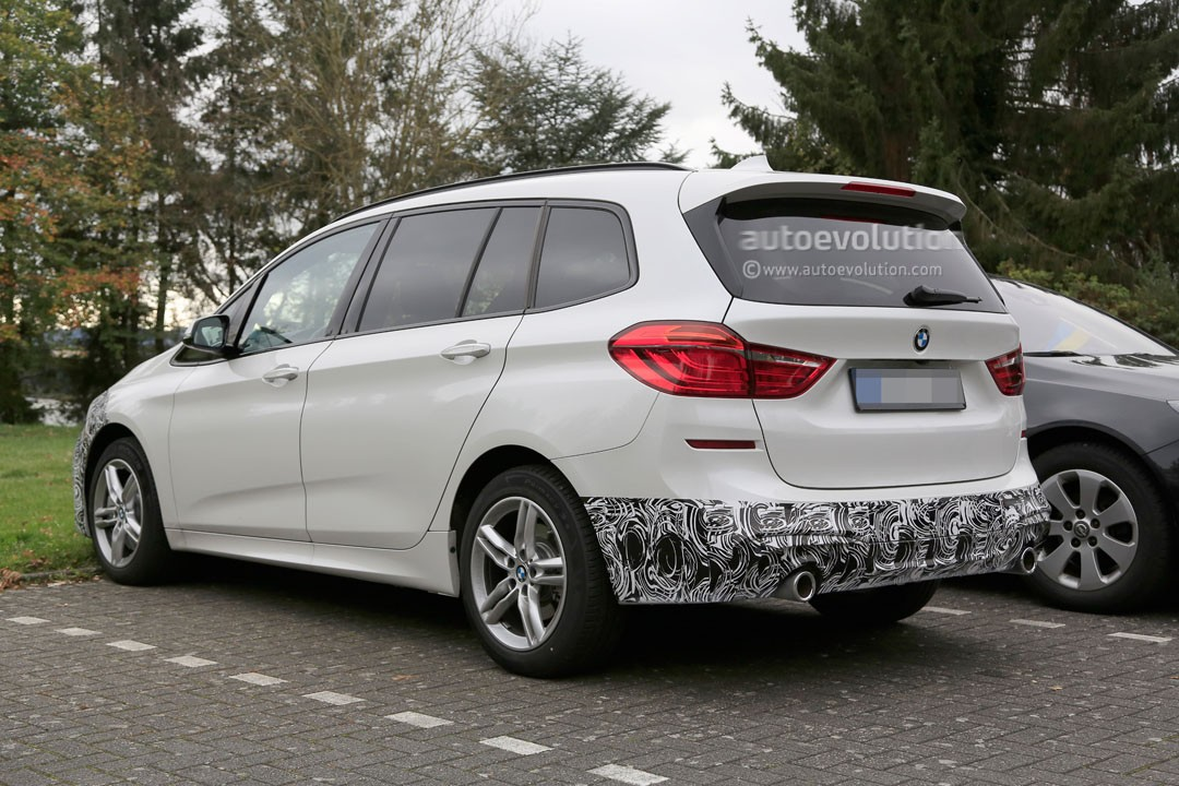 2018 bmw 2 series gran tourer facelift spied up close and. Black Bedroom Furniture Sets. Home Design Ideas