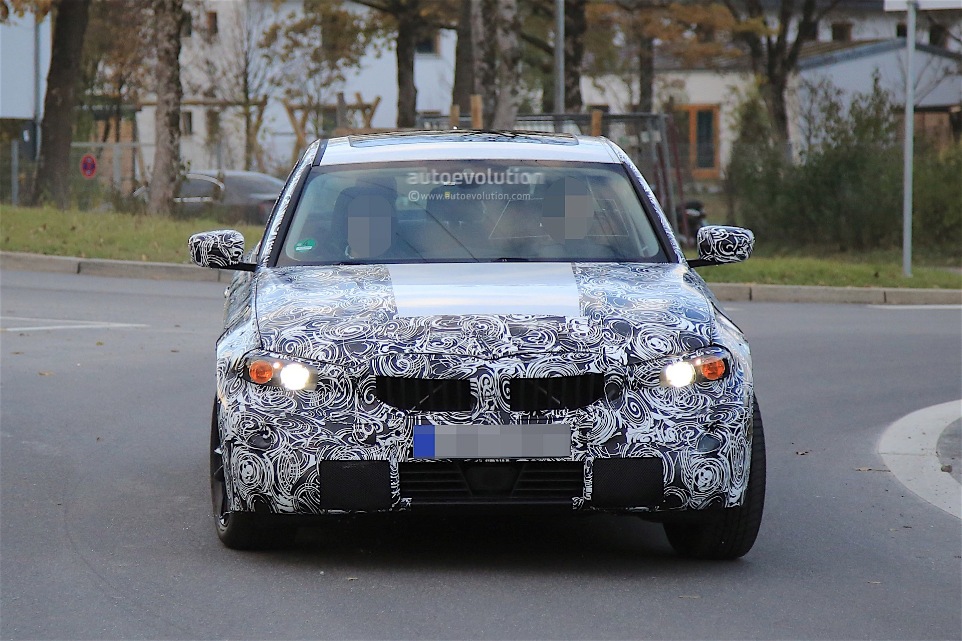 2018 bmw 3 series development goes further spyshots reveal autoevolution. Black Bedroom Furniture Sets. Home Design Ideas