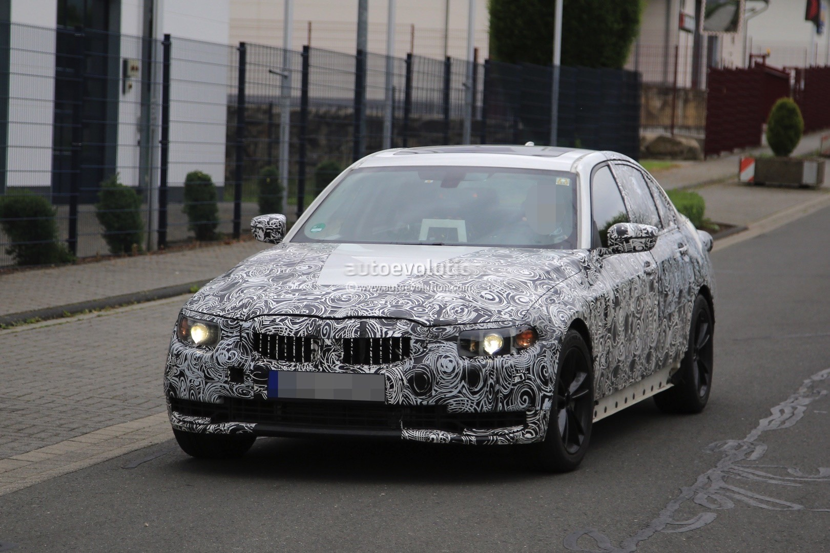 2018 bmw g20. plain g20 2018 bmw 3 series g20 on the nurburgring with bmw g20