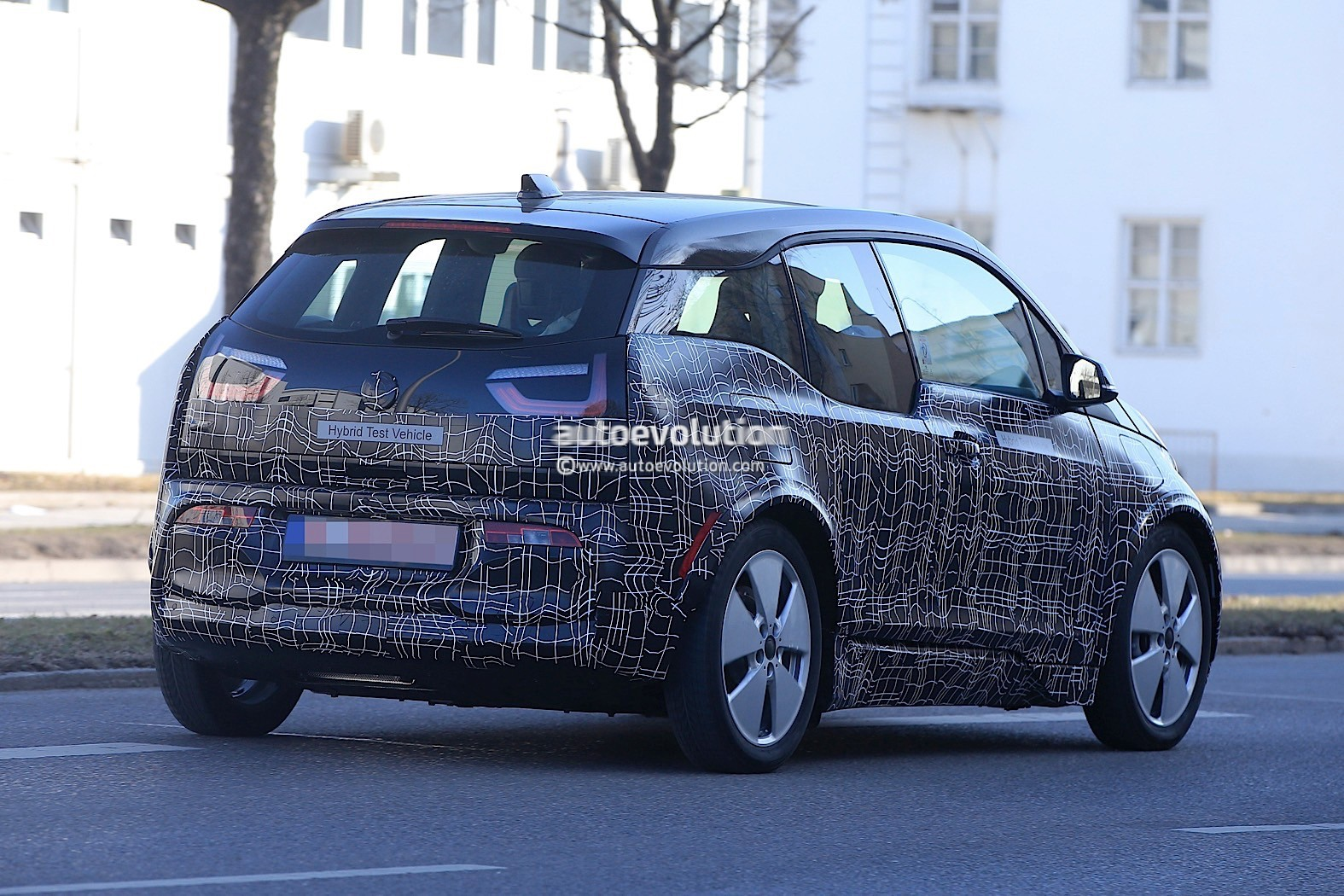 2018 bmw i3 s prototype spotted for the first time. Black Bedroom Furniture Sets. Home Design Ideas