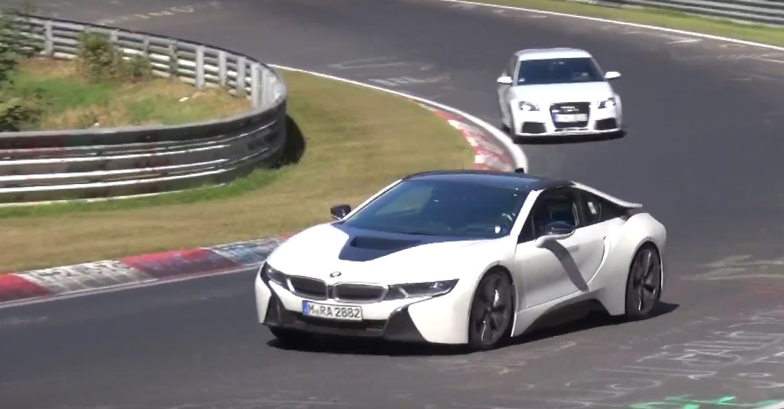 BMW I8 Roadster Shows Up On Nurburgring