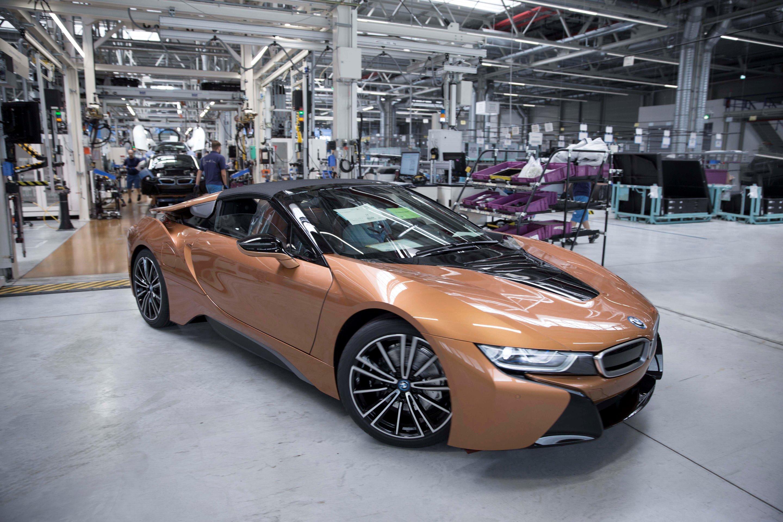 2018 BMW I8 Roadster ...