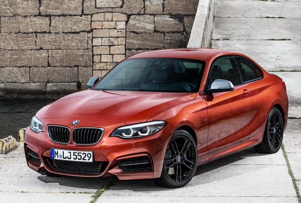 2018 bmw m140i and m240i facelift star in new photos and videos autoevolution. Black Bedroom Furniture Sets. Home Design Ideas