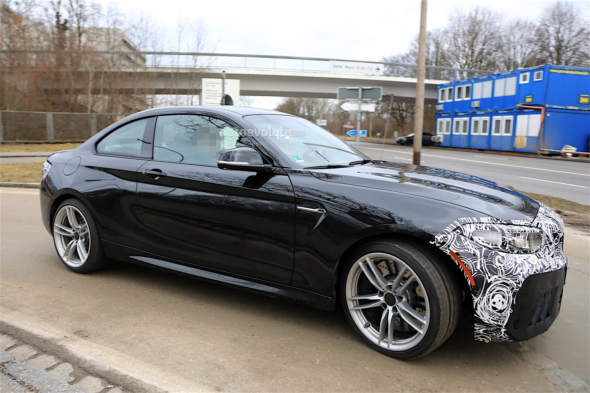 2018 BMW M2 Facelift Spotted Almost Uncovered, Looks As ...