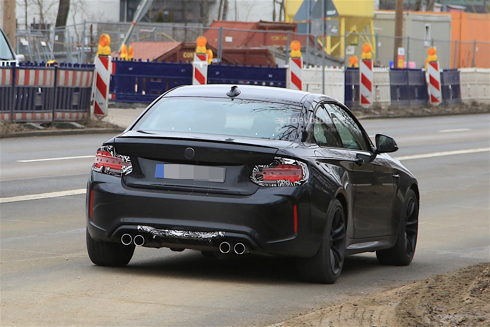 2018 bmw m2 facelift spotted almost uncovered, looks as good as