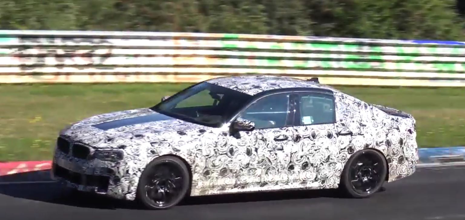 2018 Bmw M5 F90 Definitely Sounds Better In These Latest Nurburgring