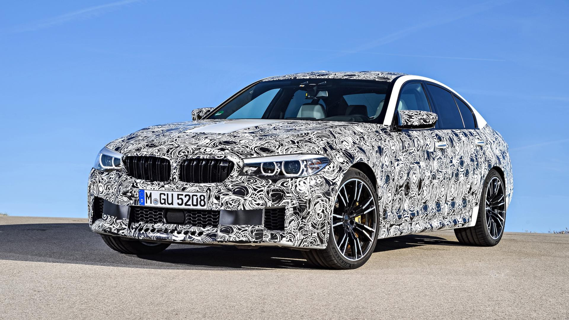 2018 bmw m5 f90 leaked looks amazing in official photos. Black Bedroom Furniture Sets. Home Design Ideas