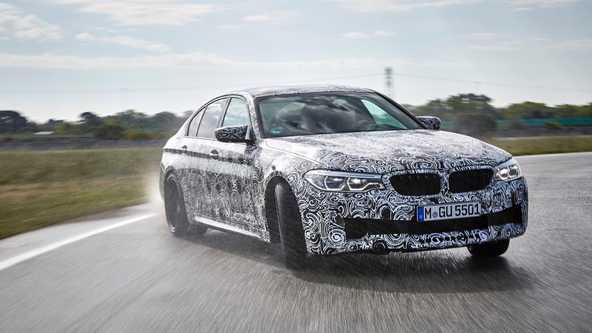 2018 BMW M5 (F90) Leaked, Looks Amazing In Official Photos ...
