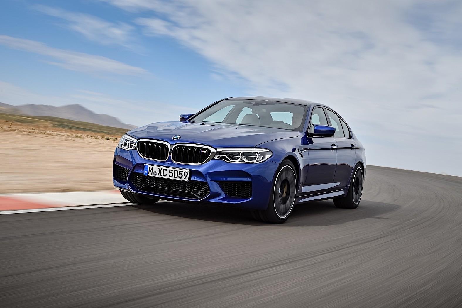2018 BMW M5 High-Speed Drifting Is Timo Glock's Smoke Show