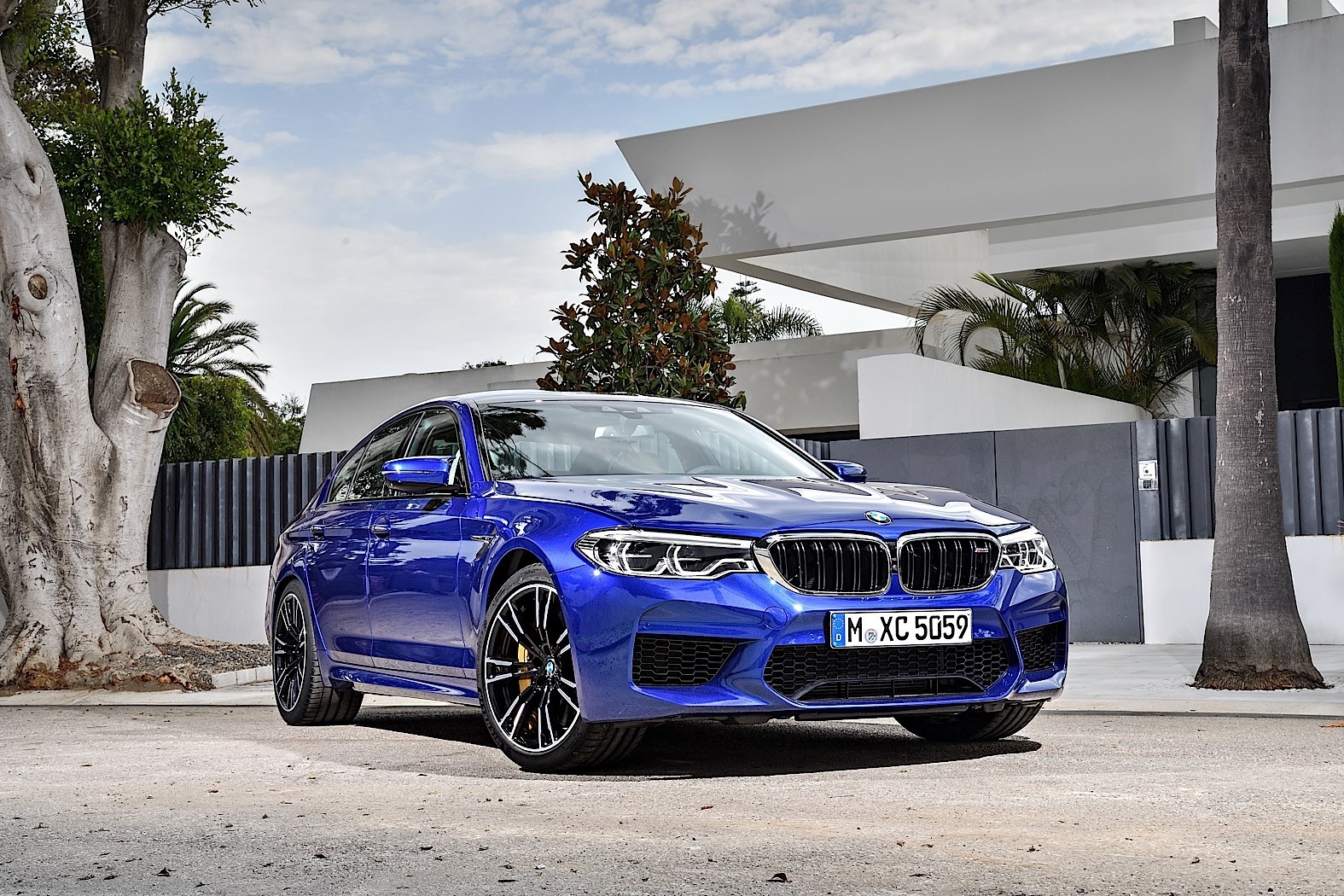 2018 BMW M5 Unveiled With 600 PS, AWD and RWD - autoevolution