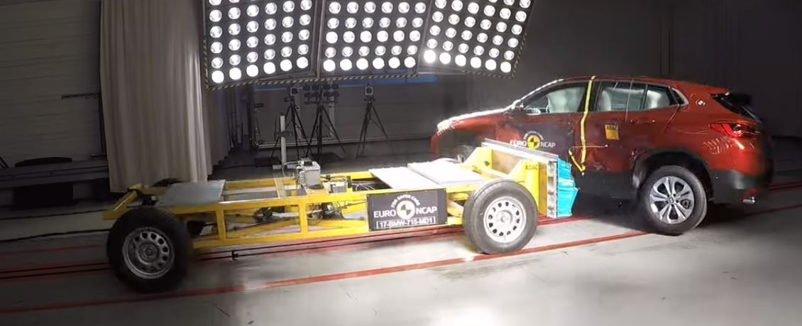 2018 BMW X2 Doesn't Mirror X1 in Euro NCAP Crash Tests ... - photo#49