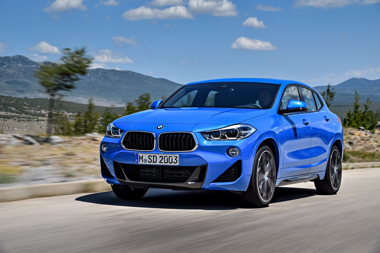 Bmw X2 2018 Dimensions >> 2018 BMW X2 (F39) Goes Official, Boasts Head-Turning Exterior Design - autoevolution