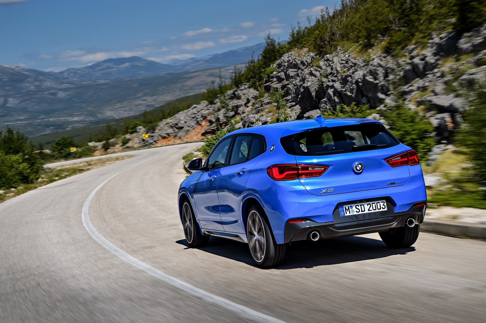 bmw x2 m looks unreasonably cool autoevolution. Black Bedroom Furniture Sets. Home Design Ideas