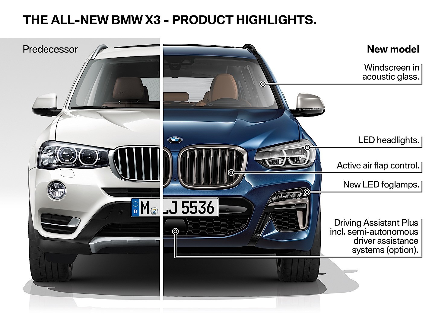 2018 bmw x3 g01 goes official transitions from sav to suv autoevolution. Black Bedroom Furniture Sets. Home Design Ideas