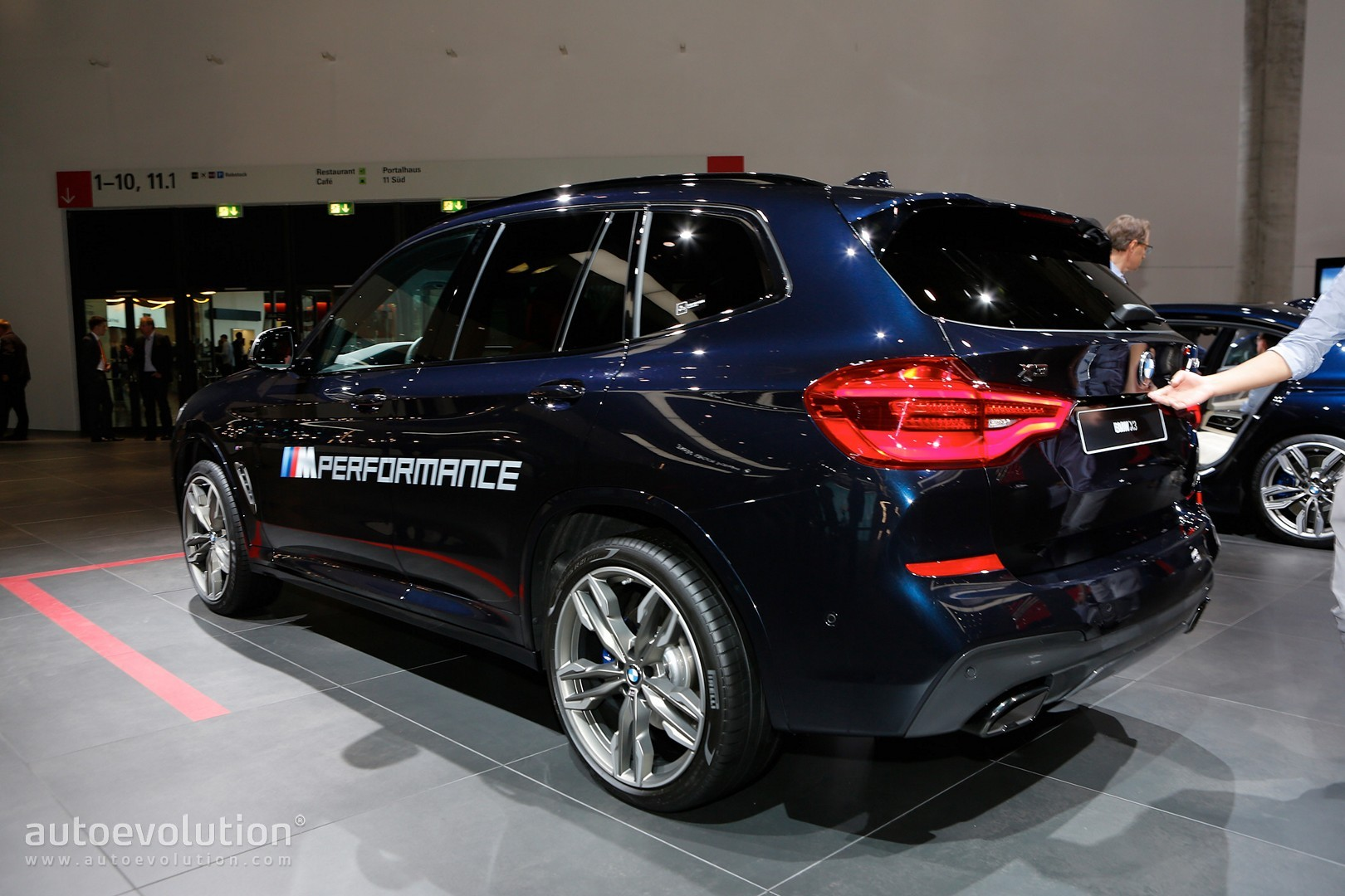 2018 bmw x3 m40i. brilliant m40i 2018 bmw x3 m40i frankfurt live photos on bmw x3 m40i