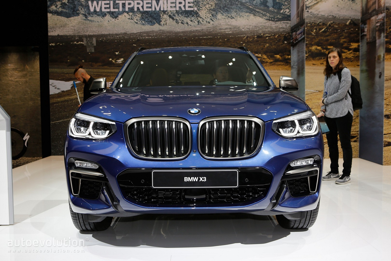 2018 bmw x3 m40i marks the start of a new era in frankfurt autoevolution. Black Bedroom Furniture Sets. Home Design Ideas