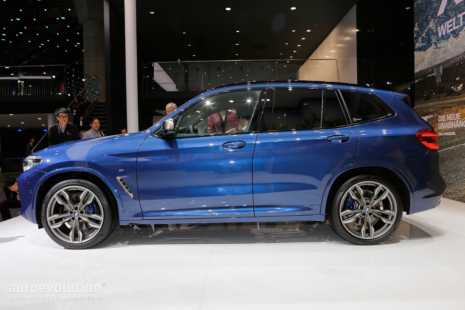 2018 bmw x3. perfect 2018 2018 bmw x3 m40i frankfurt live photos on bmw x3