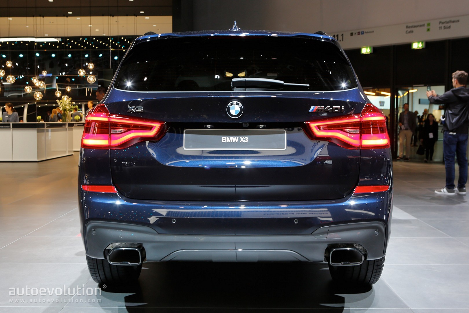 2018 Bmw X3 M40i Marks The Start Of A New Era In Frankfurt
